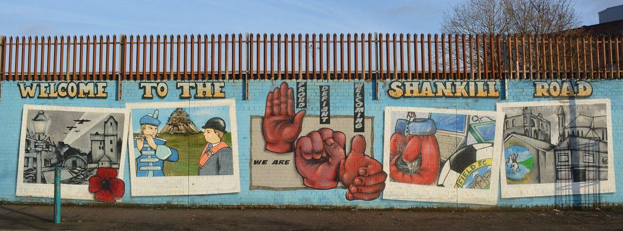 i murales di shankill road