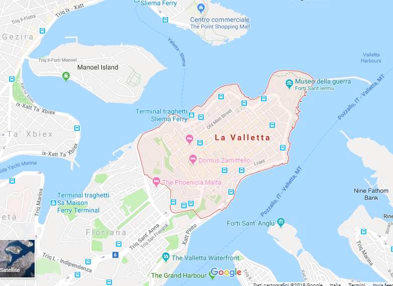 Dove Si Trova Malta Cartina.Cosa Vedere A La Valletta Capitale Di Malta Viaggi In Europa