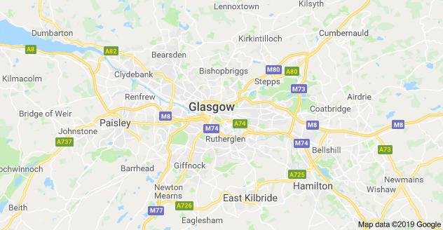 mappa glasgow