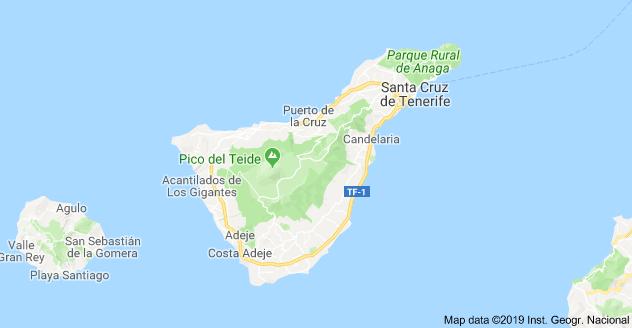 Tenerife Cartina Spagna.Cosa Vedere A Tenerife L Isola Spagnola Viaggi In Europa