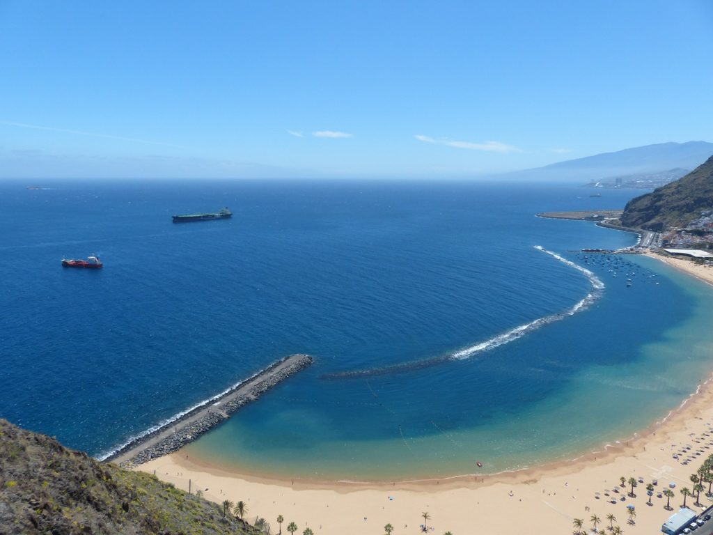 Spiaggia Las Teresitas Tenerife