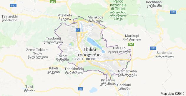 tbilisi mappa
