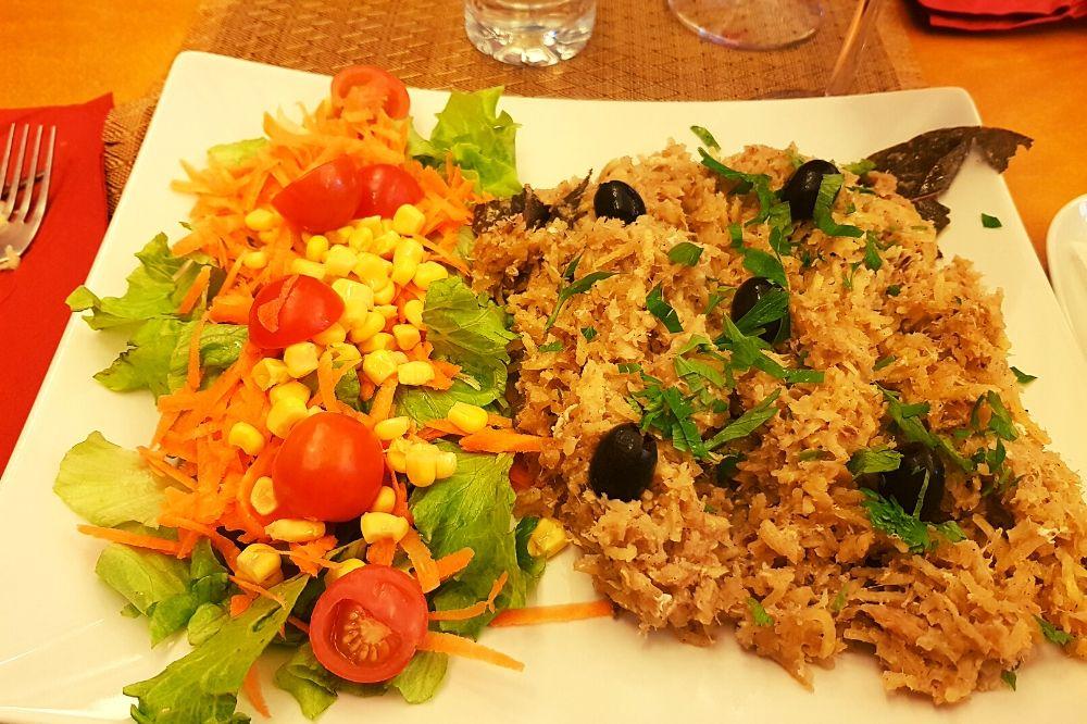 piatto tipico portoghese