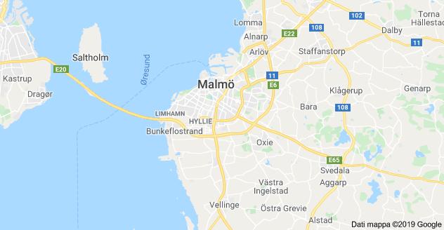 malmo mappa