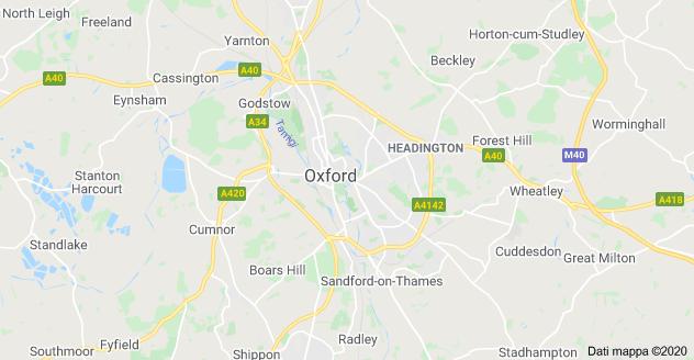 mappa oxford