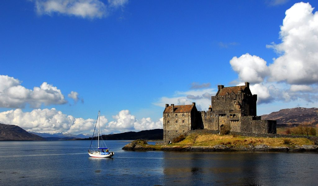 Eilean Donan Castle foto