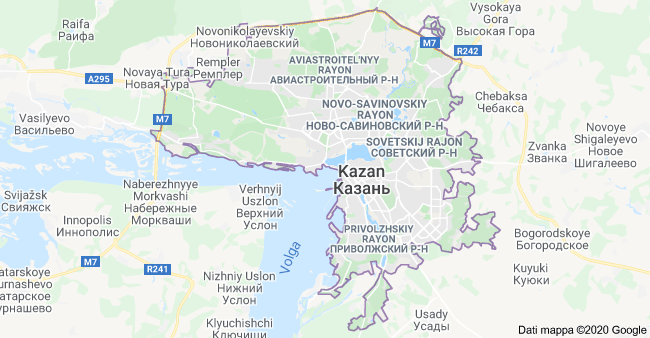 mappa kazan