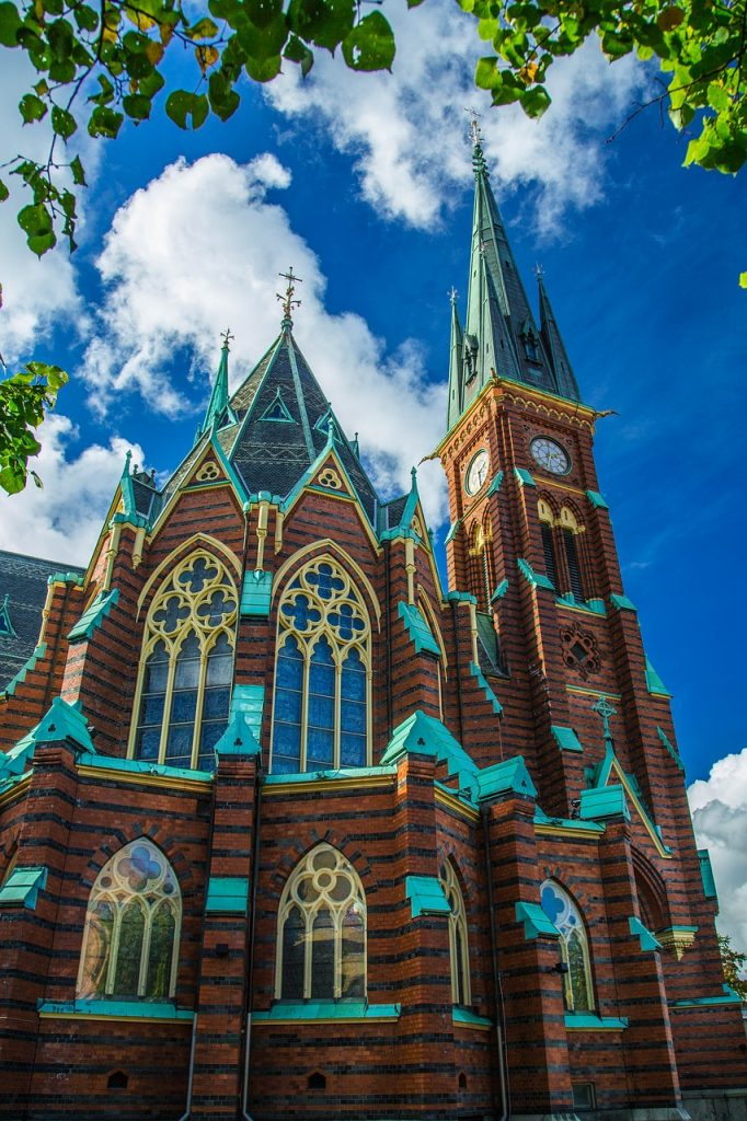 Chiesa di Oscar Fredrik