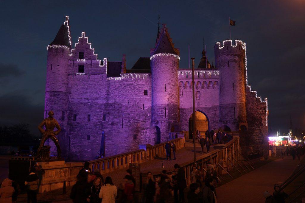 castello het steen anversa