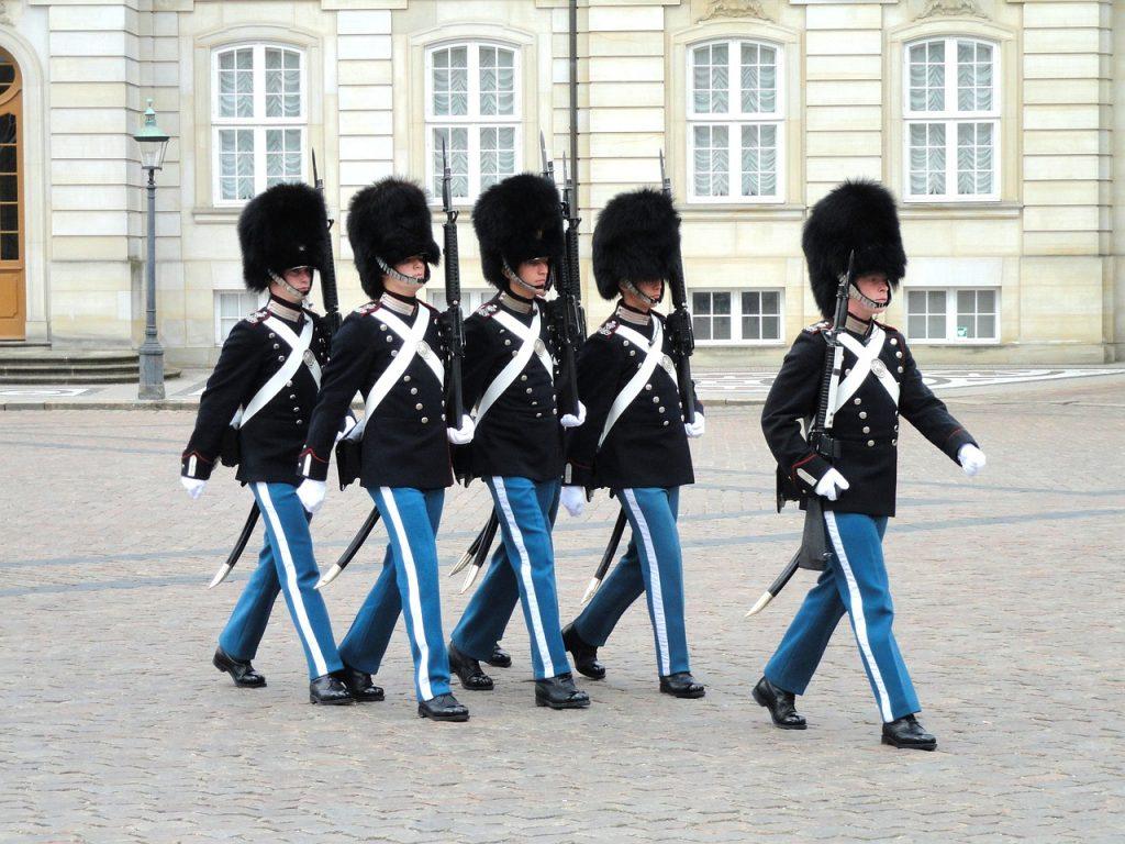 guardie reali danesi