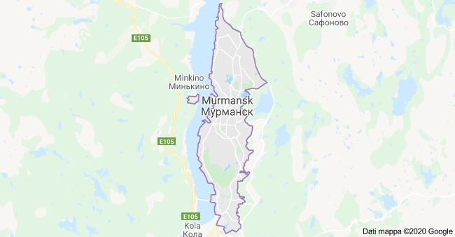 mappa murmansk