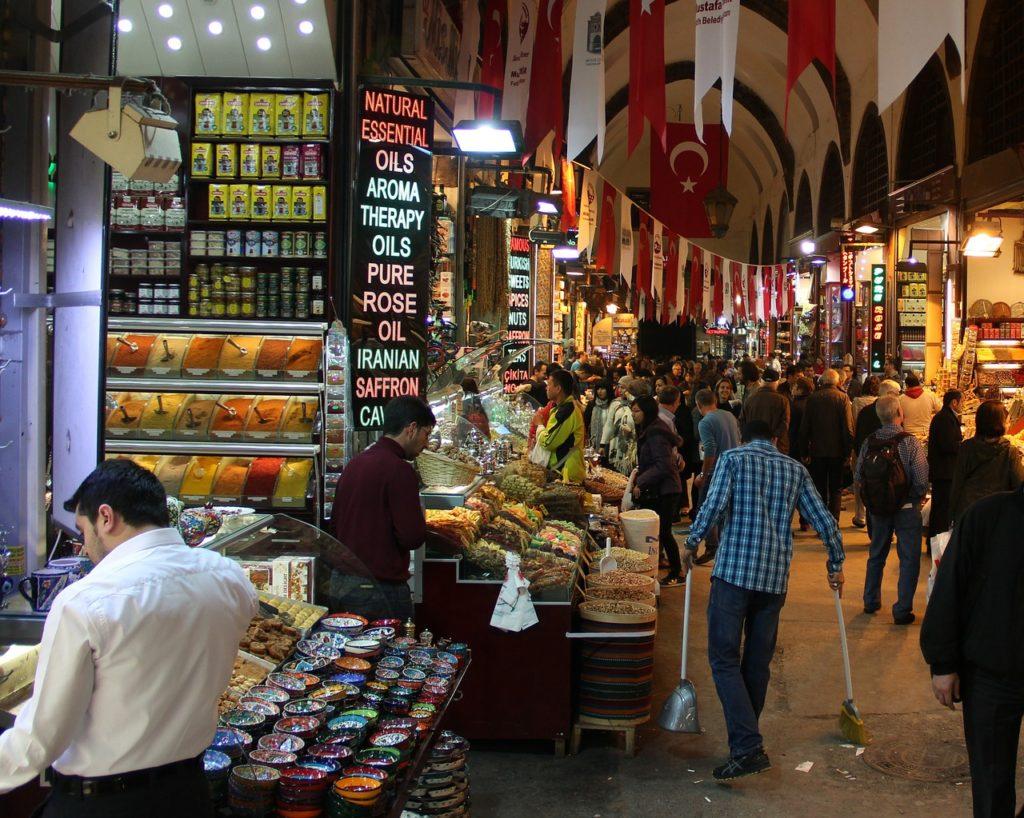 mercato istanbul turchia