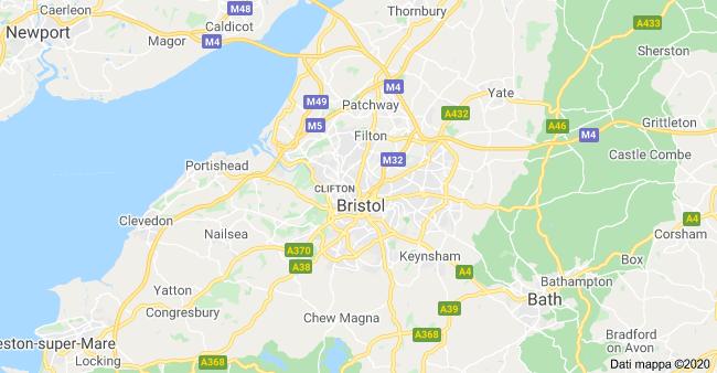 mappa bristol
