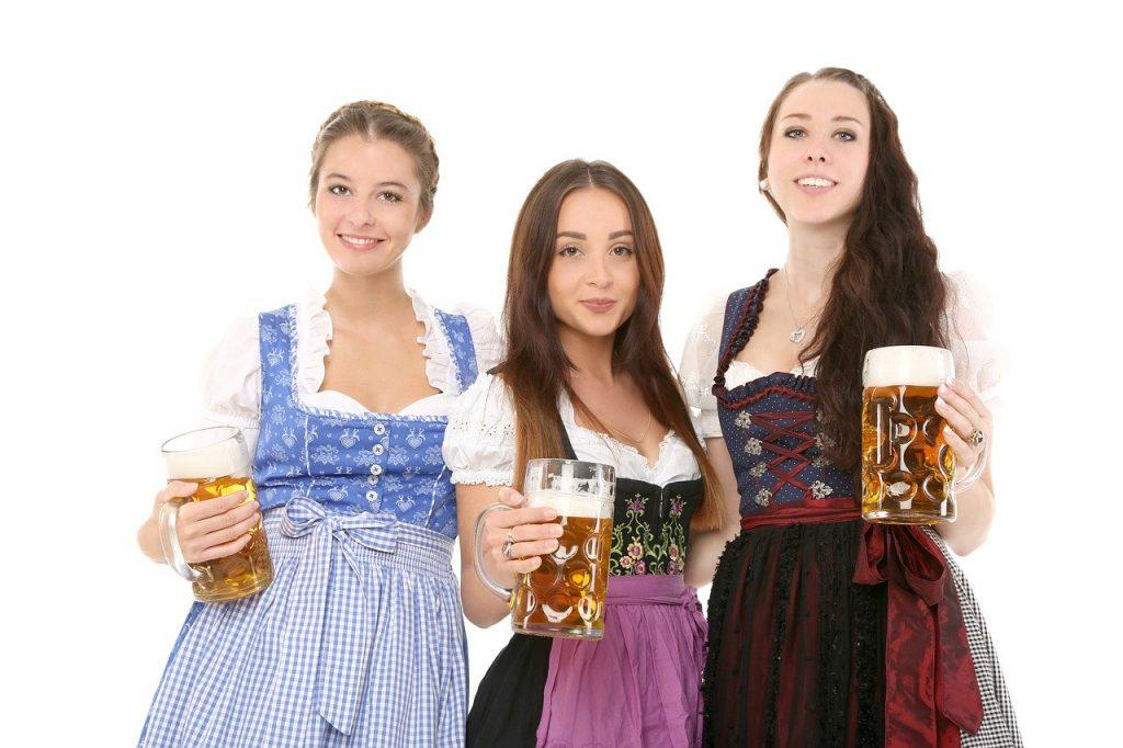 tedesche con birra