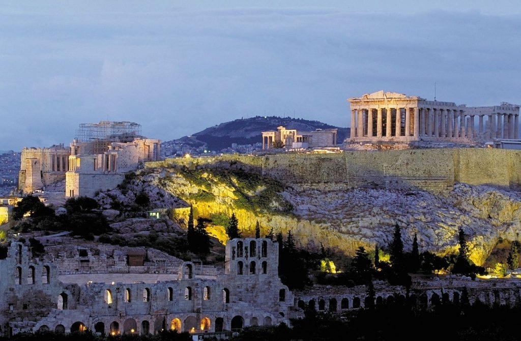 acropoli atene foto