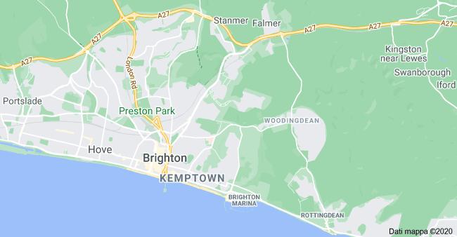 mappa brighton