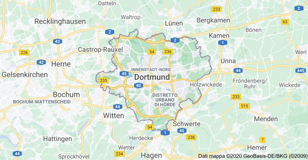 mappa dortmund
