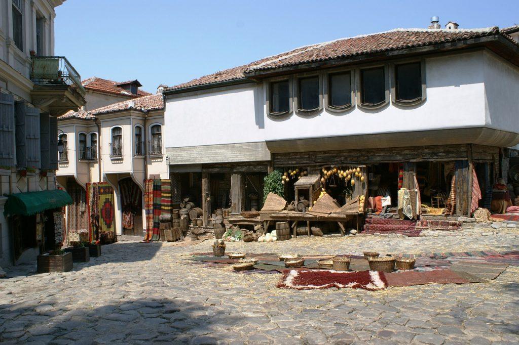 centro storico plovdiv