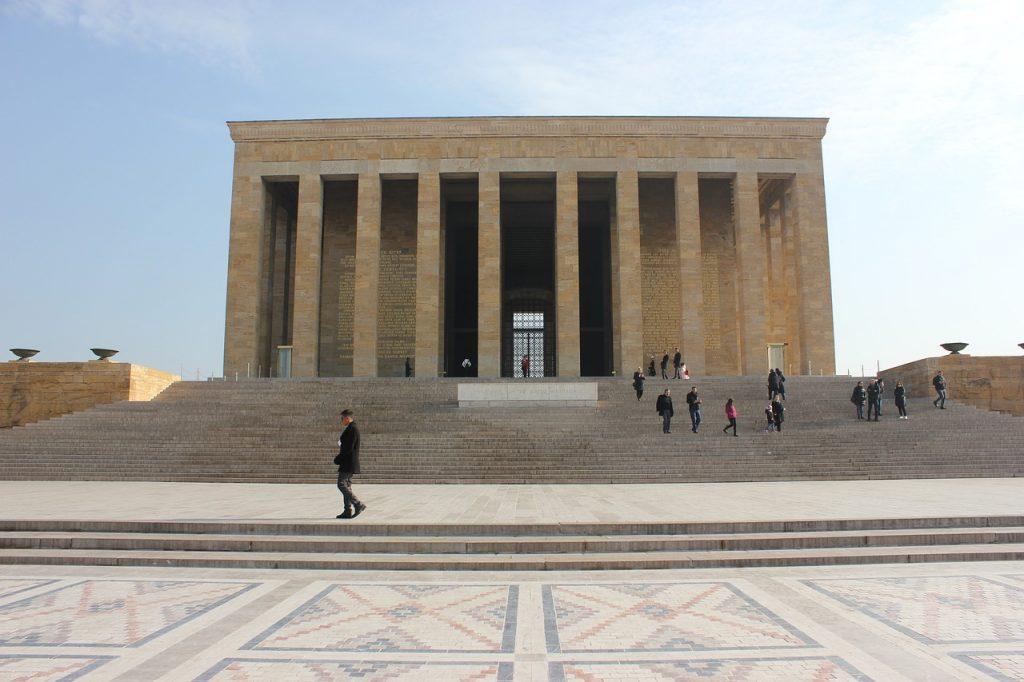 Il mausoleo diAnıtkabir foto